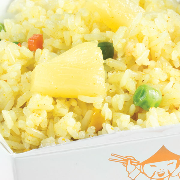 Orez Cu Curry Si Ananas