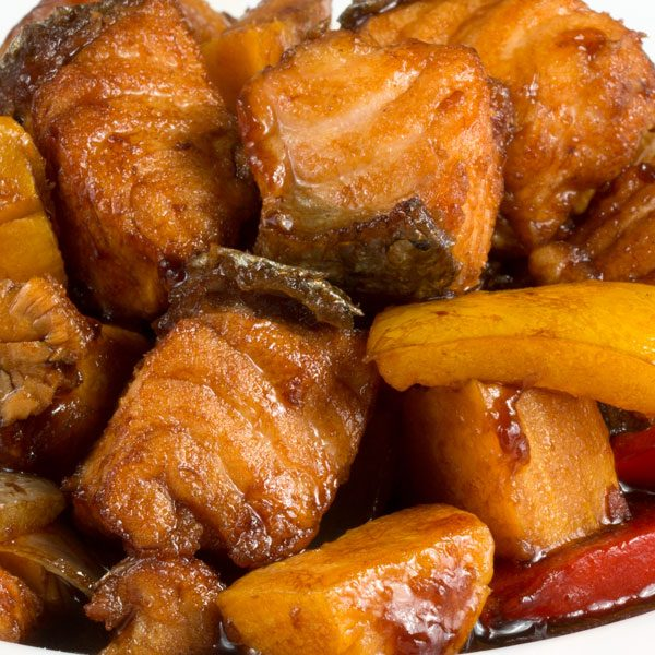 Somon Cu Cartof Dulce 300gr