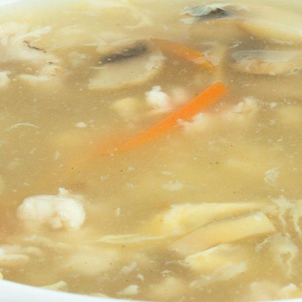 Supa De Pui Cu Ciuperci